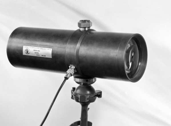 Tony Davis' Free Space Optical Link - 1965