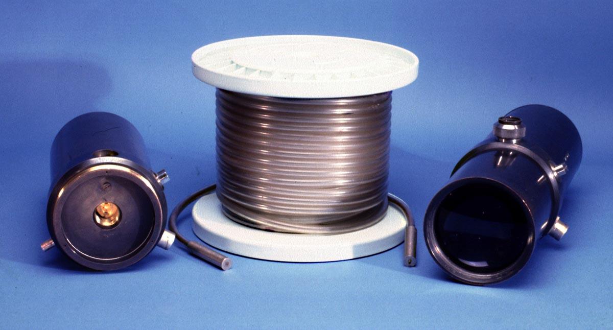 20 Metre fibre bundle transmission system 1967