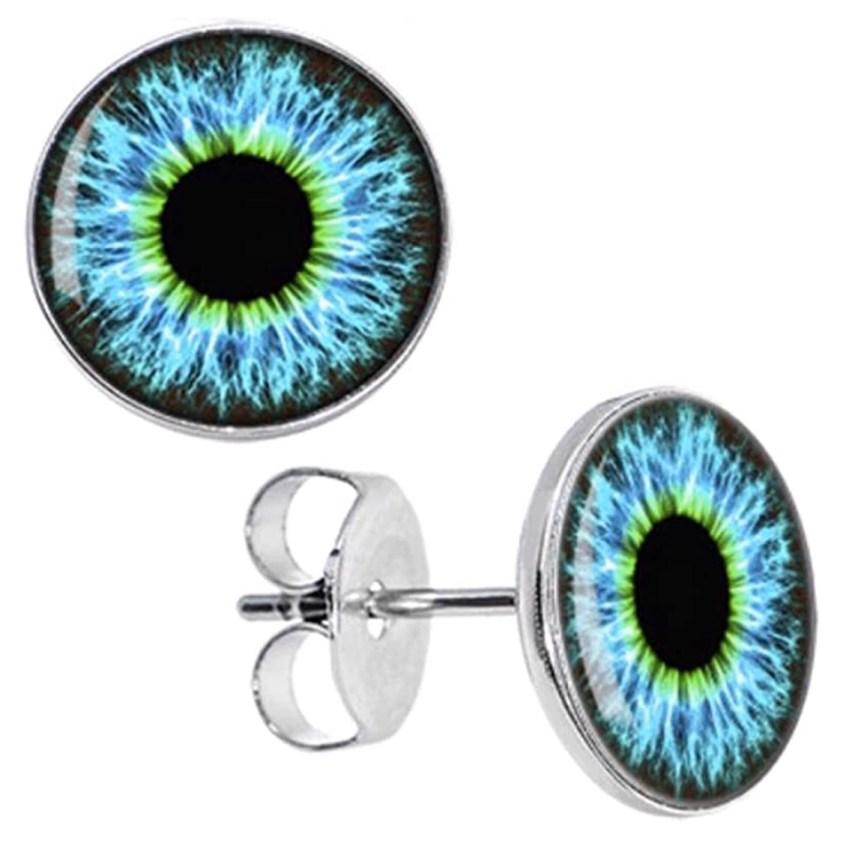 eye earrings