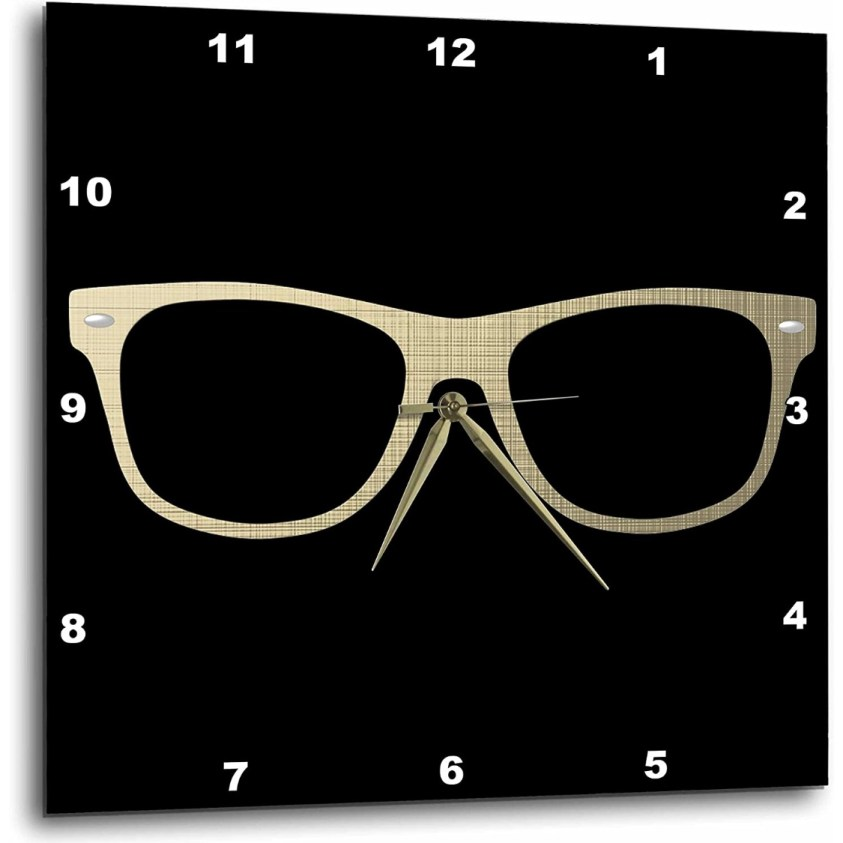 glasses clock