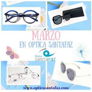 Novedades en Gafas para primavera en optica santafaz www.opticasantafaz.com san vicente del raspeig Alicante