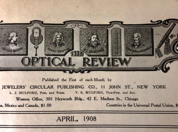 1908 Optical Review