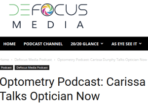 Defocus Media Interview with Carissa Dunphy