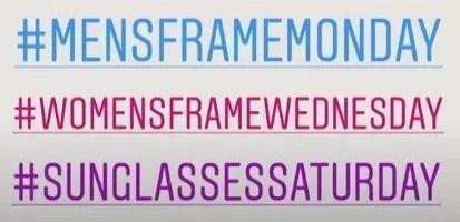 optician hashtags