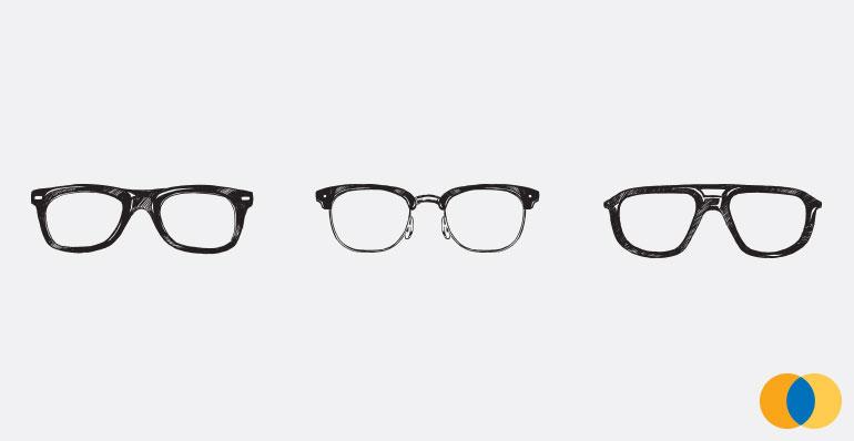 79e56d783 Como escolher os modelos e materiais de óculos para o seu rosto?