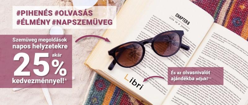 da579a9d0478 Szemüveg megoldások napos helyzetekre akár 25% kedvezménnyel, ajándék  olvasnivalóval!