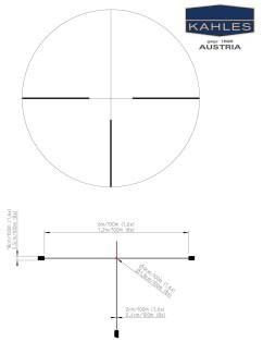 Kahles Helia5 1.6-8x42 4-Dot reticle datasheet