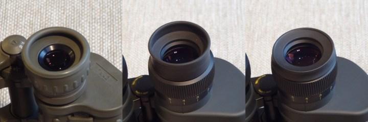 Eyepieces on Porro Binoculars