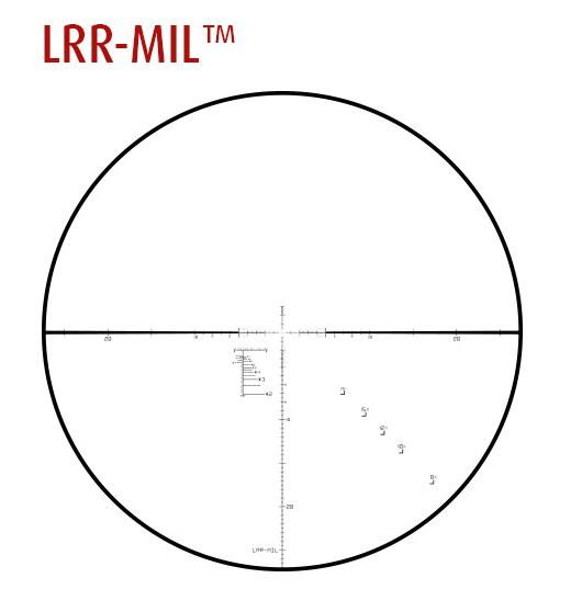 LRR-MIL Reticle