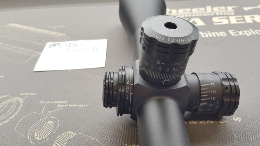 Sightron SV 4.5-24x56 FFP ED