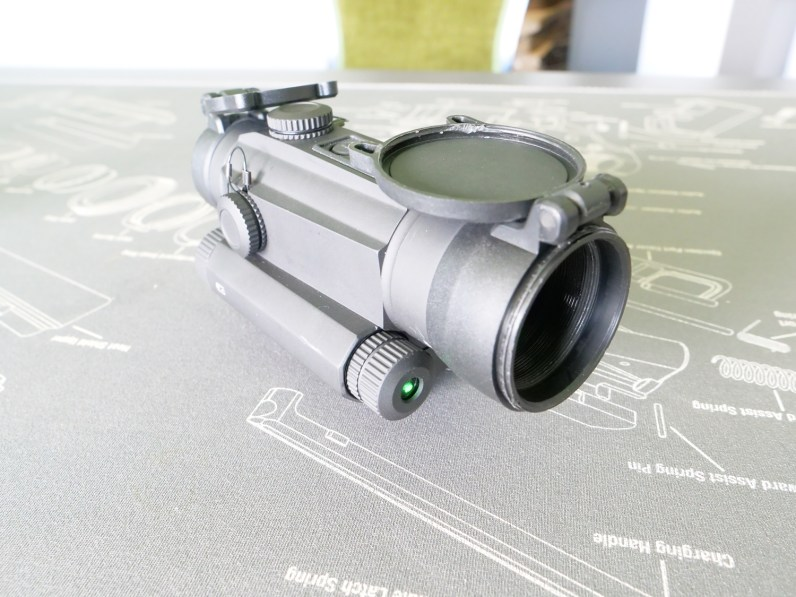 G5 means that the device features a visible green laser