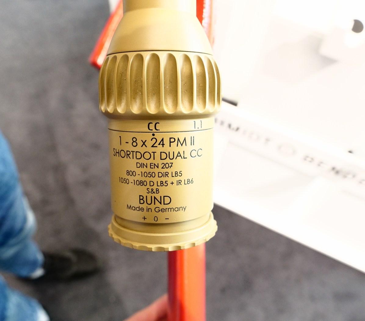 S&B ShortDot PM II Dual CC 1-8x24