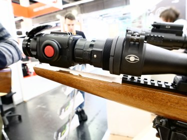 Night Pearl SEER mounted on a Meopta riflescope