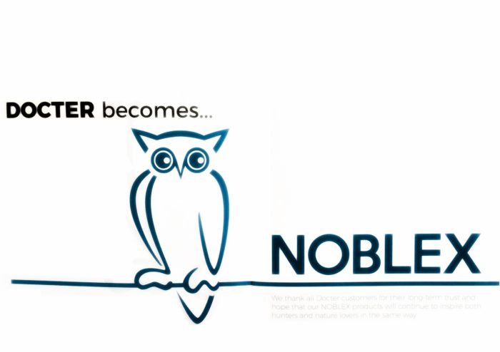Docter becomes NOBLEX (from Noblex Catalog 2018)