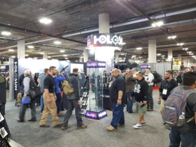 Holosun booth at SHOT Show 2019