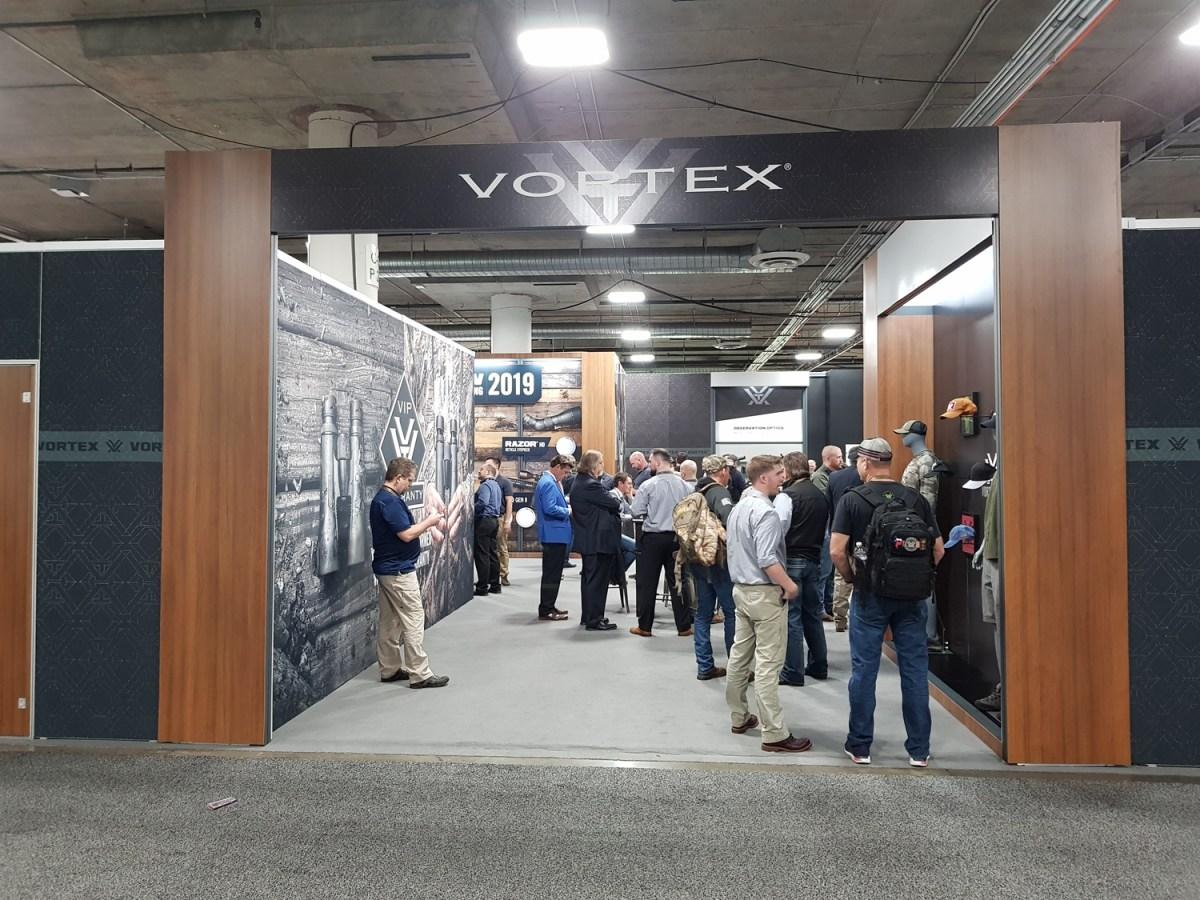 Vortex's booth at Shot Show 2019