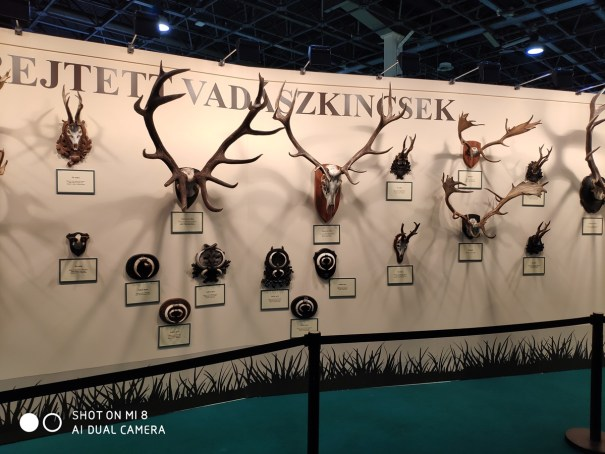 FeHoVa 2019 Hunting Fair in Budapest, Hungary.