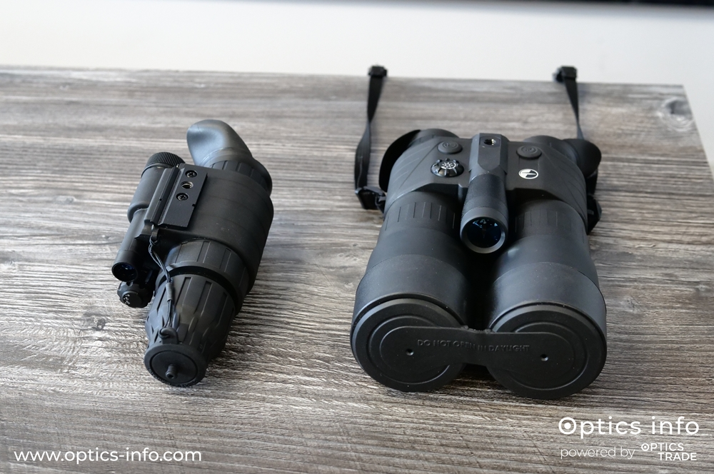 Pulsar analog night vision devices Challenger GS and Edge GS