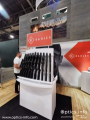 Kahles' booth at Shot Show 2020