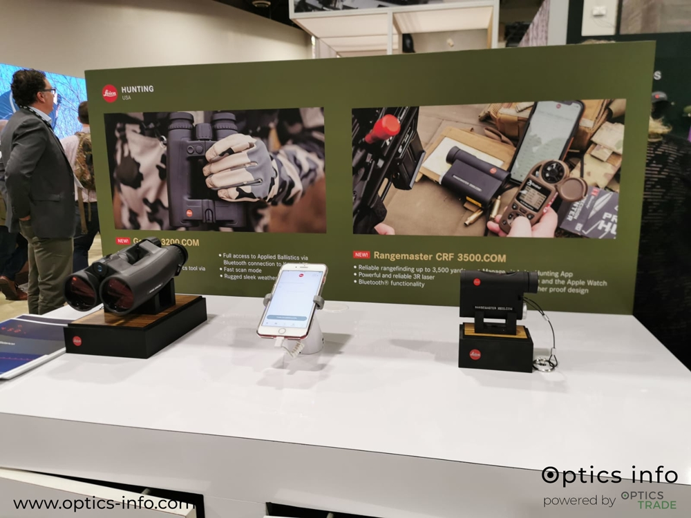 Leica's booth at Shot Show 2020