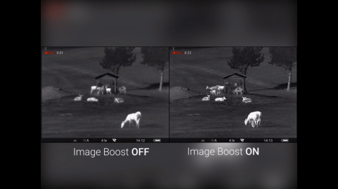 Image Detail boost OFF vs Detail image boost ON