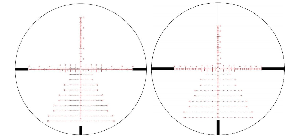 Vortex Strike Eagle 5-25x56 Reticle