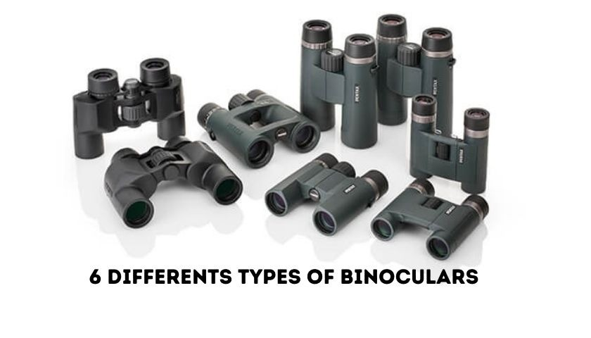 Differents types of binoculars