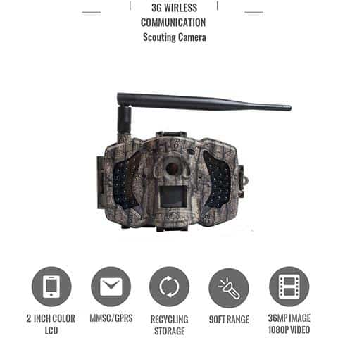 Boly MG983G 30MP 3G Wireless Trail Camera