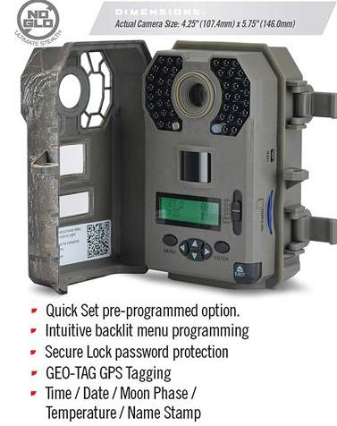 Stealth Cam G42NG No Glow Trail Game Camera
