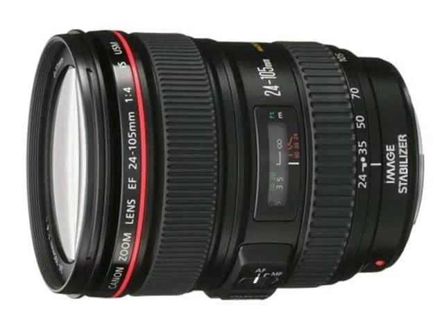 Canon EF 24 105mm USM Lens