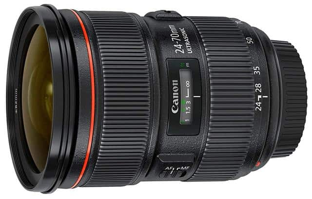 Canon EF 24 70mm Zoom Lens