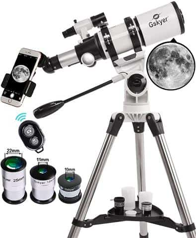 Gskyer 80mm AZ Space Astronomical Refractor Telescope