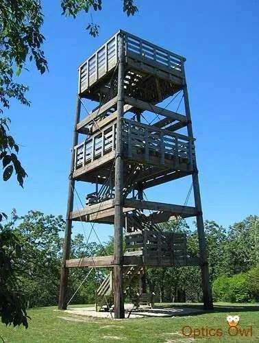 Lapham Peak tower