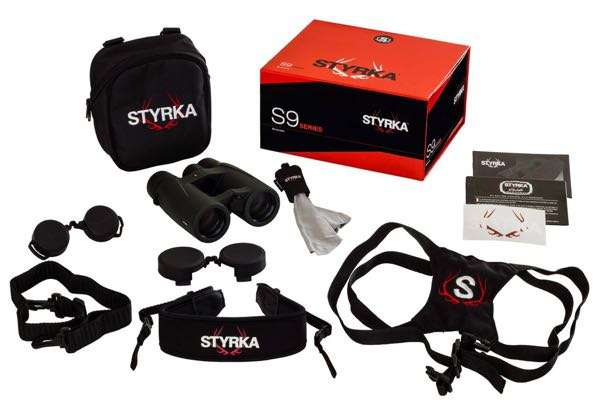 S9 Series binoculars and accessories