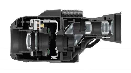 Canon IS binoculars inside