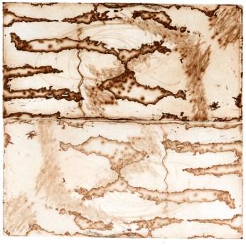 Intaglio etching, 4x4 in.