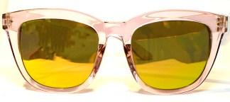 SANFORD Sonnenbrille Rosa Durchscheinend Kunststoff 54/20 144mm