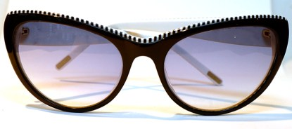 MASCA Sonnenbrille Weiss/Schwarz Kunststoff SMA 1540 CAT.2