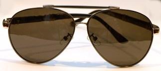 SANFORD Pilotenbrille Schwarz Metall
