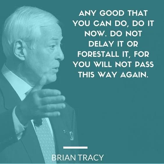 ब्रायन ट्रेसी के सुप्रसिद्ध विचार