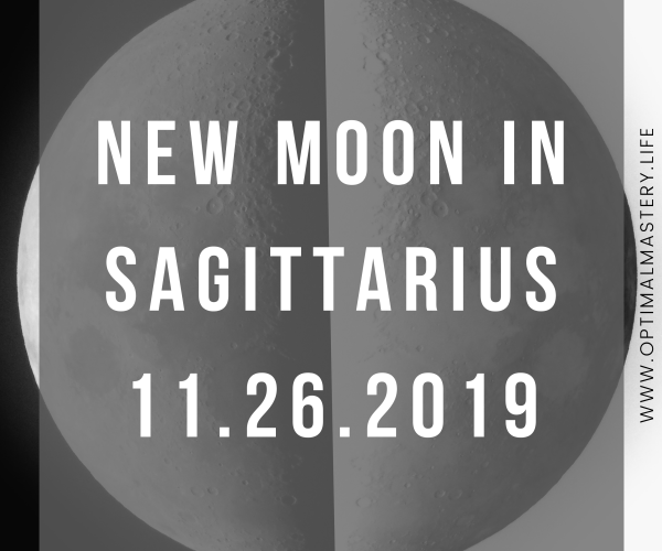 New Moon in Sagittarius: November 2019