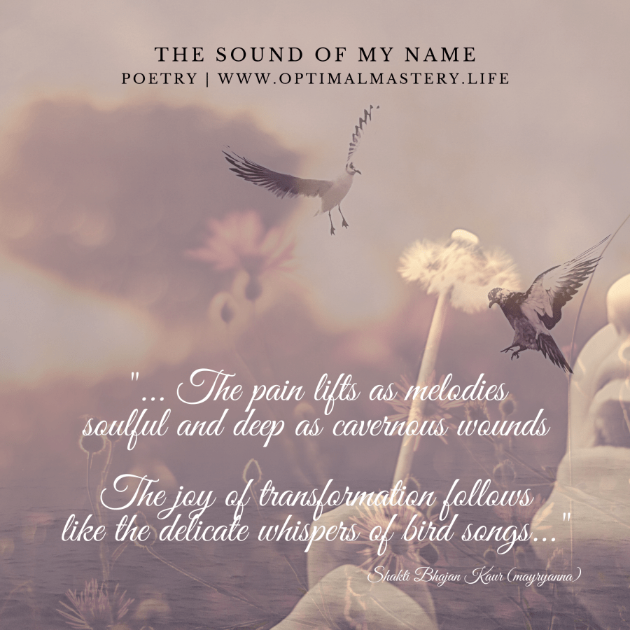 The Sound of My Name