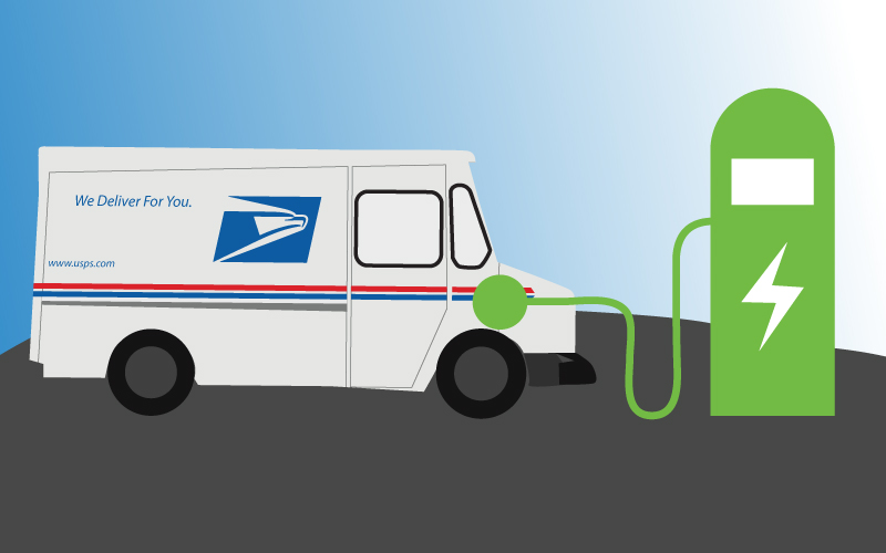 Electric Usps Truck