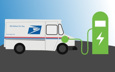 USPS Tests Electric Delivery Trucks in California