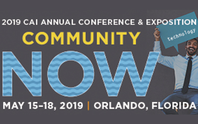 2019 CAI ANNUAL CONFERENCE & EXPOSITION 5/15-5/17