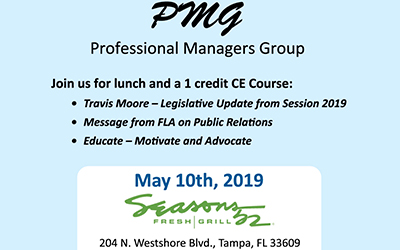 Professional Managers Group Lunch/Program: MANAGERS ONLY*