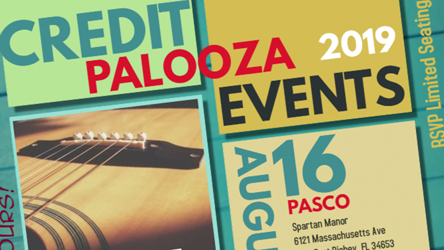 Stress Relievers: Credit Palooza! 8/16