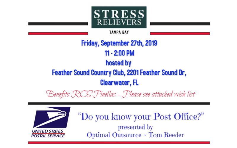 Stress Relievers Event 9/27