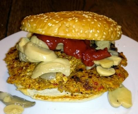 vegetar-burger-raske-retter
