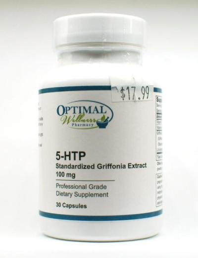 5-HTP Standardized Griffonia Extract 100mg